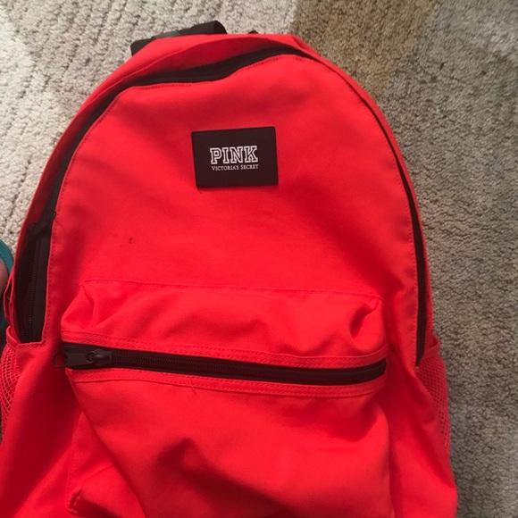 Red/pink Victoria Secret Pink backpack!
